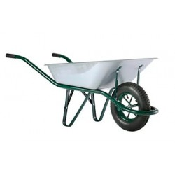 BROUETTE FIRST PREMS GALVA 90L ROUE GONFLEE